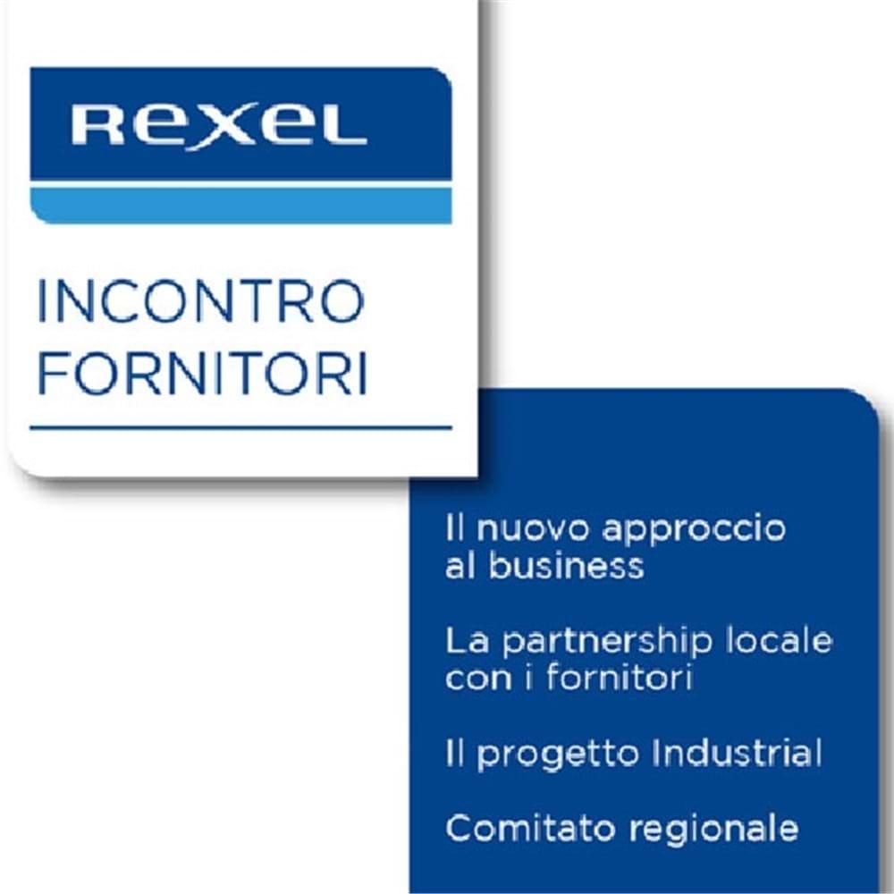 """Rexel e i Fornitori partner (evento a Roma): """"INSIEME PER IL NOSTRO BUSINESS"""""""