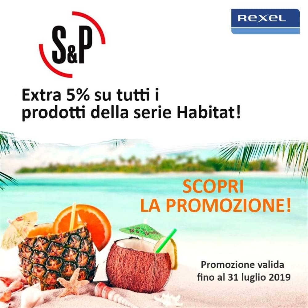 Extra 5% su tutti i prodotti della serie Habitat | Soler & Palau