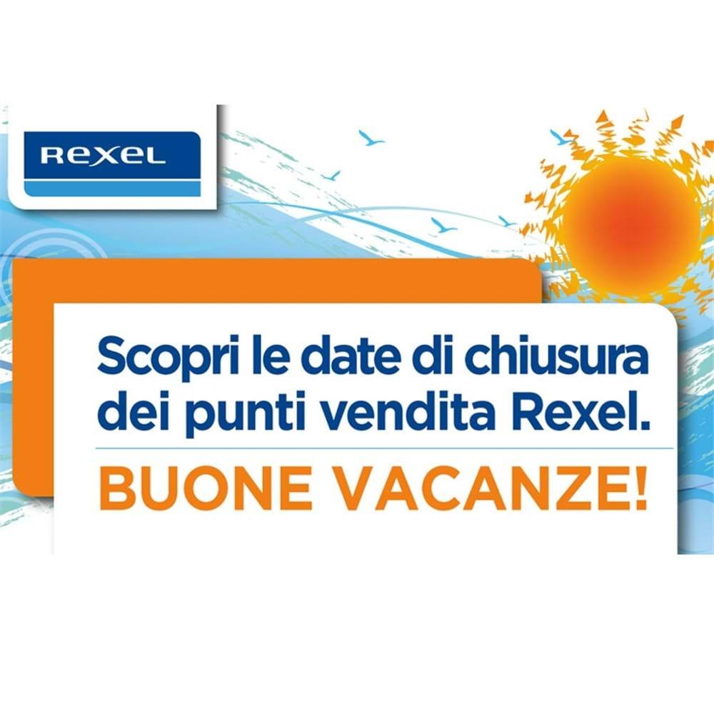 Buone Vacanze da Rexel! - Le date di chiusura estiva