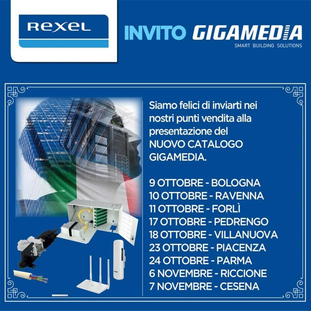 Nuovo Catalogo Gigamedia - il Tour