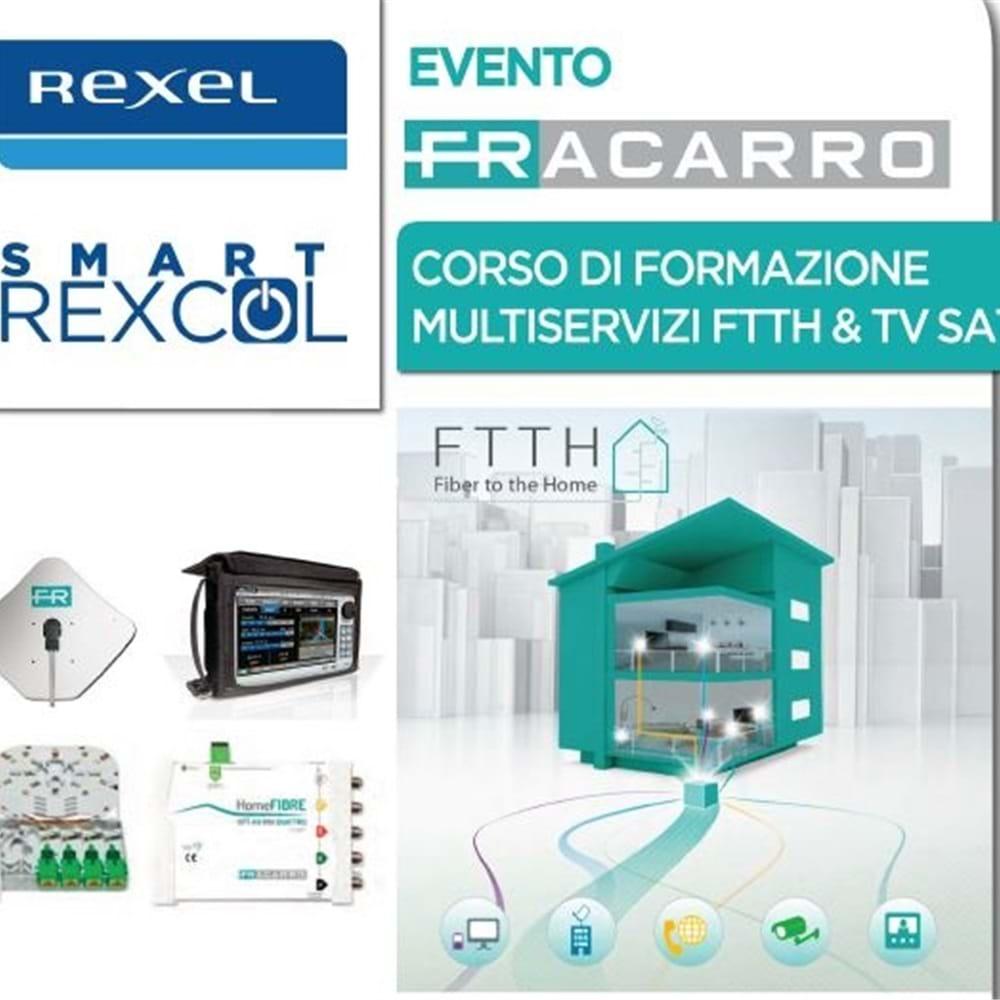 Corsi di formazione 5G FTTH e TV-SAT con Fracarro