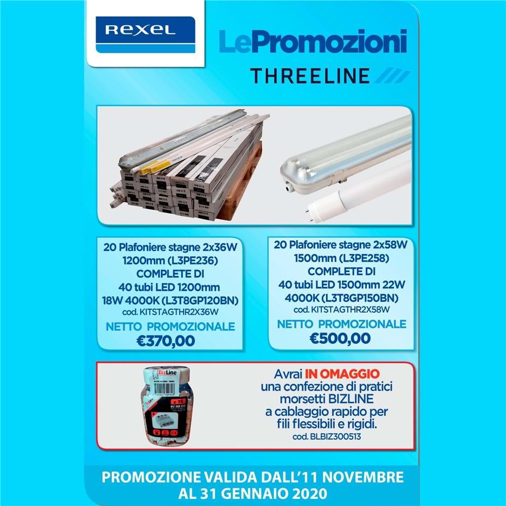 Promozione Threeline Novembre-Dicembre-Gennaio