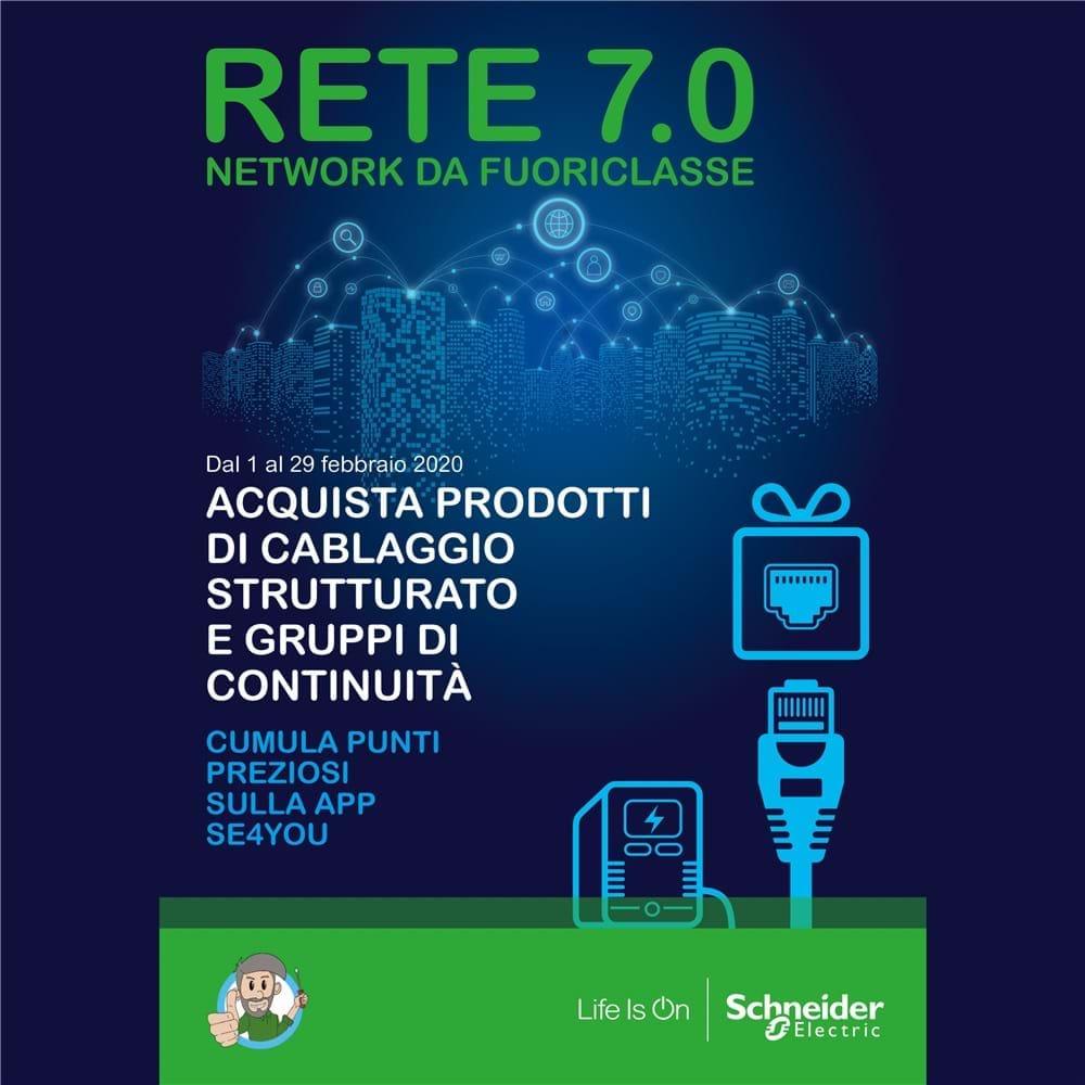 Promozione Schneider Rete 7.0