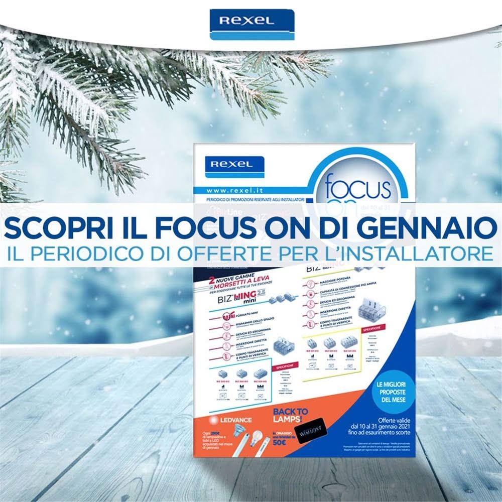Scopri le promozioni del FocusOn di gennaio!