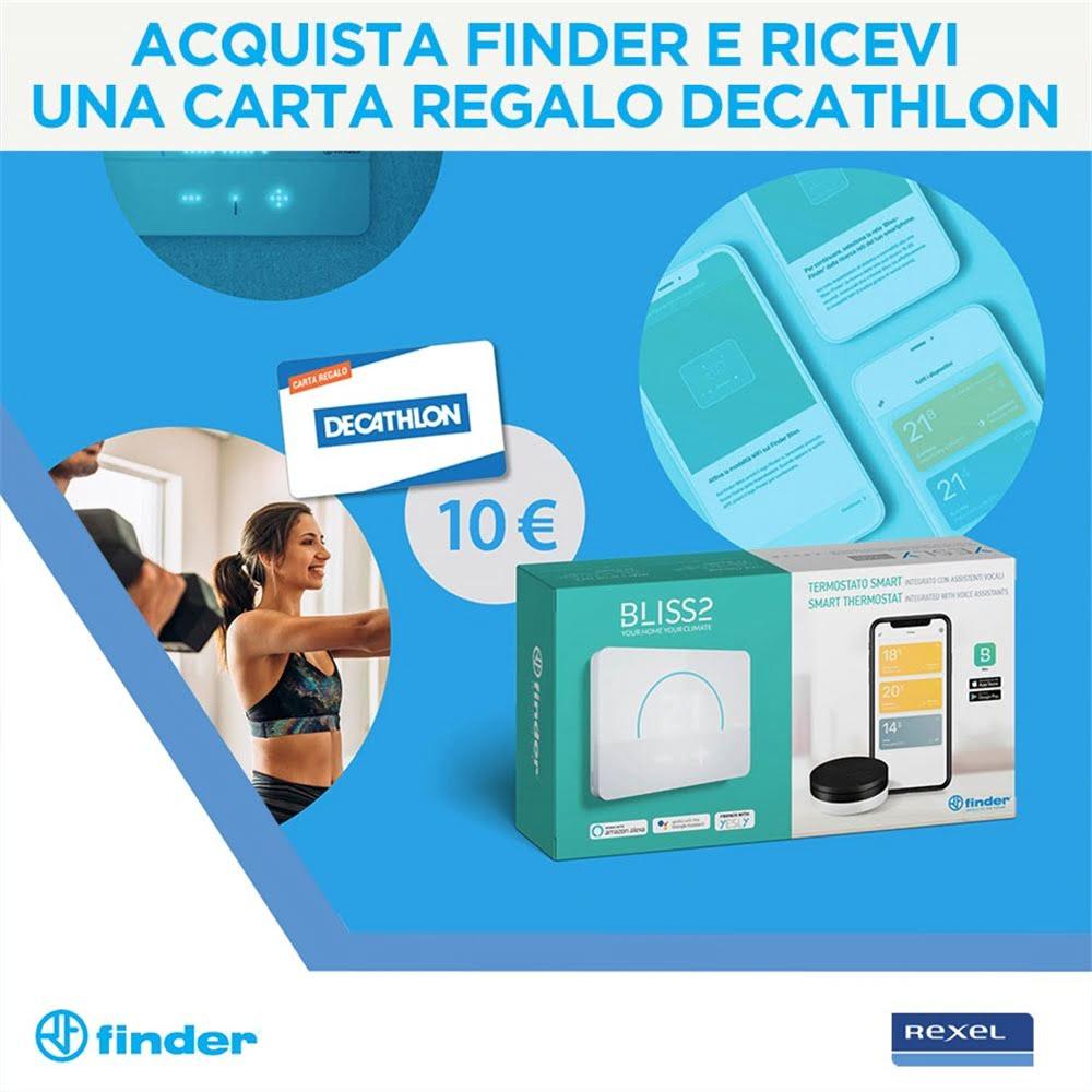 Acquista Finder e ricevi una carta regalo Decathlon!