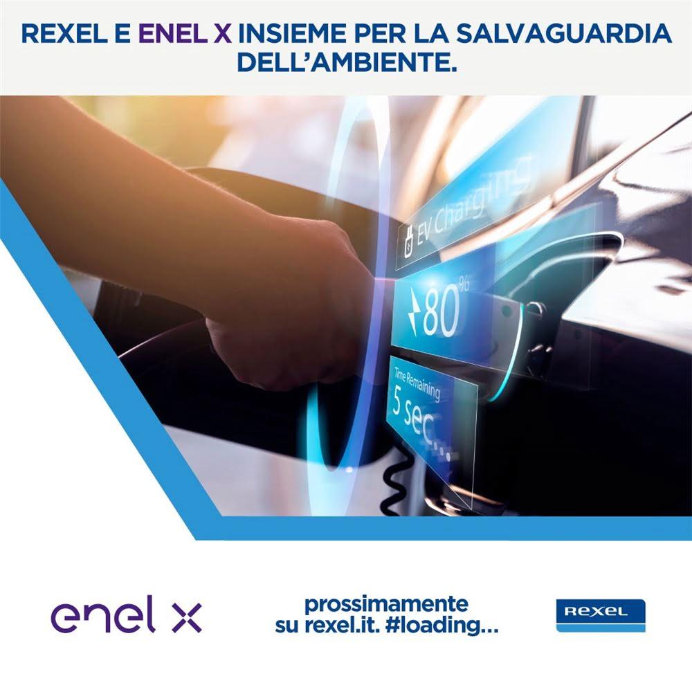 REXEL ED ENEL X  insieme per lo sviluppo della mobilità elettrica!