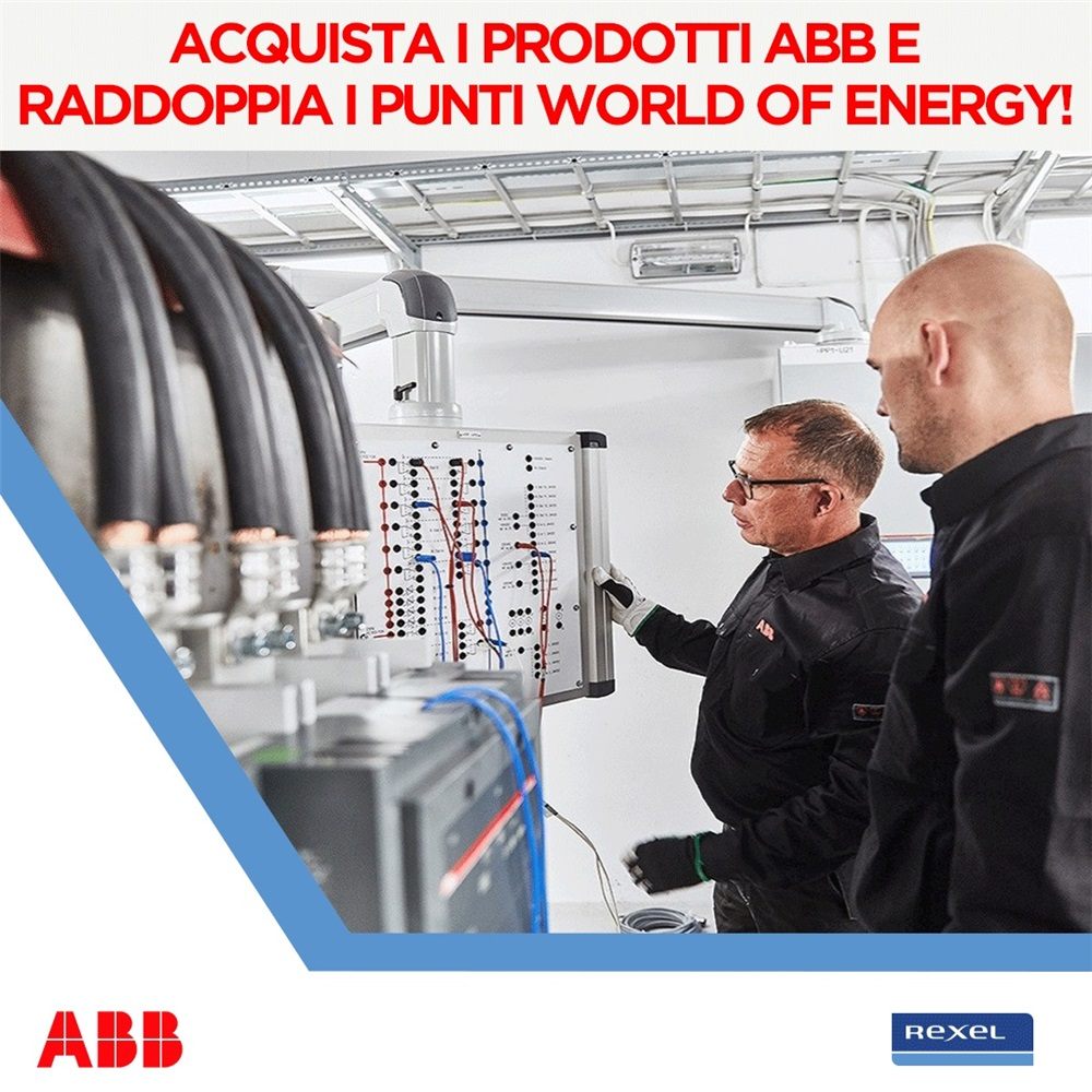 Raddoppia gli Energy Points con ABB!