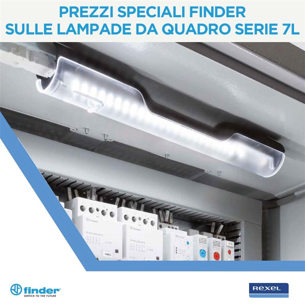 Prezzi Speciali Finder sulle lampade da quadro serie 7L