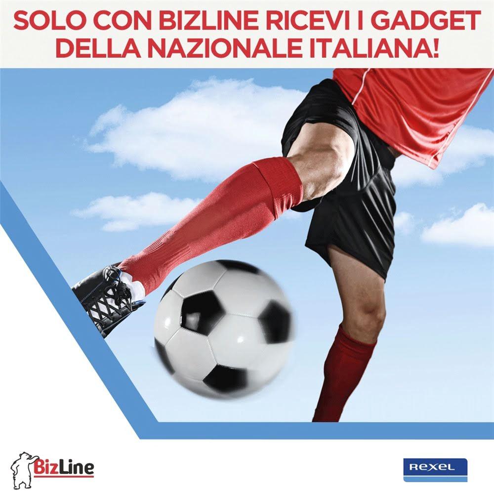 Solo con Bizline ricevi i gadget della Nazionale Italiana!