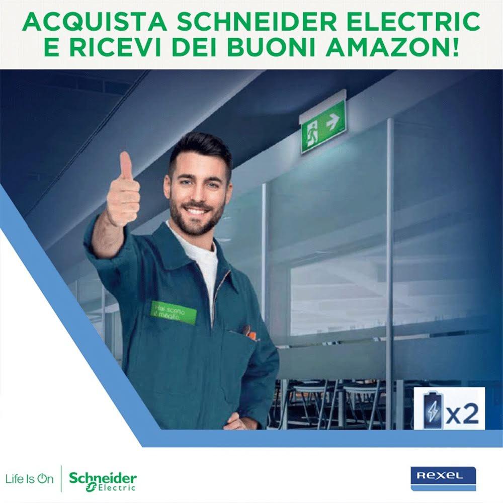 Acquista Schneider Electric e ricevi dei buoni Amazon!