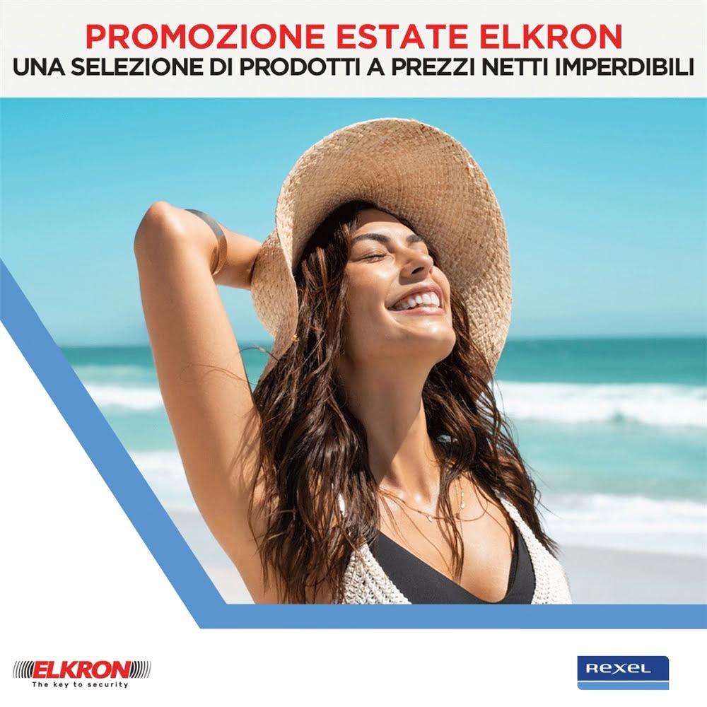 Promozione Estate 2021 Elkron!