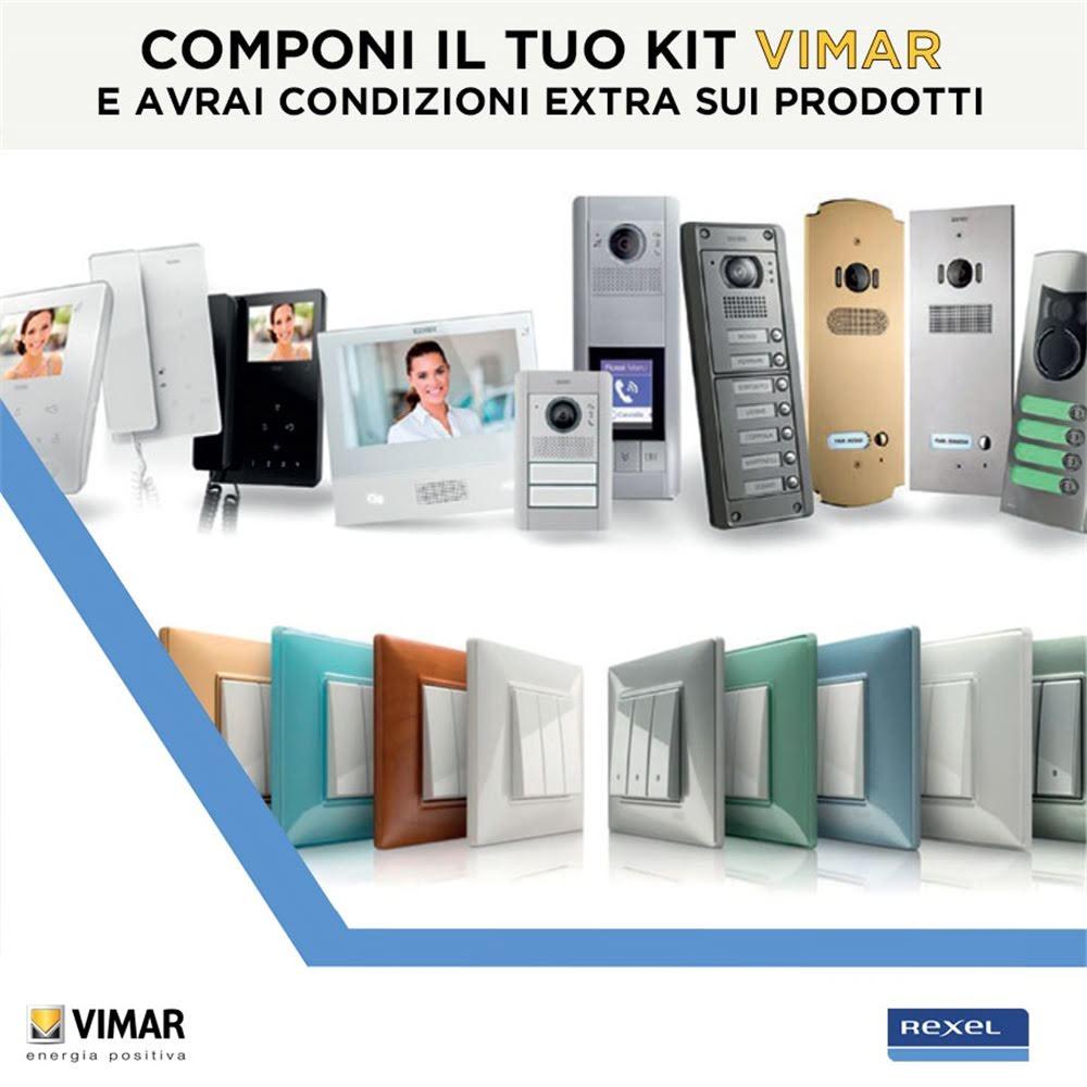 Componi il tuo kit vimar e avrai condizioni extra sui prodotti