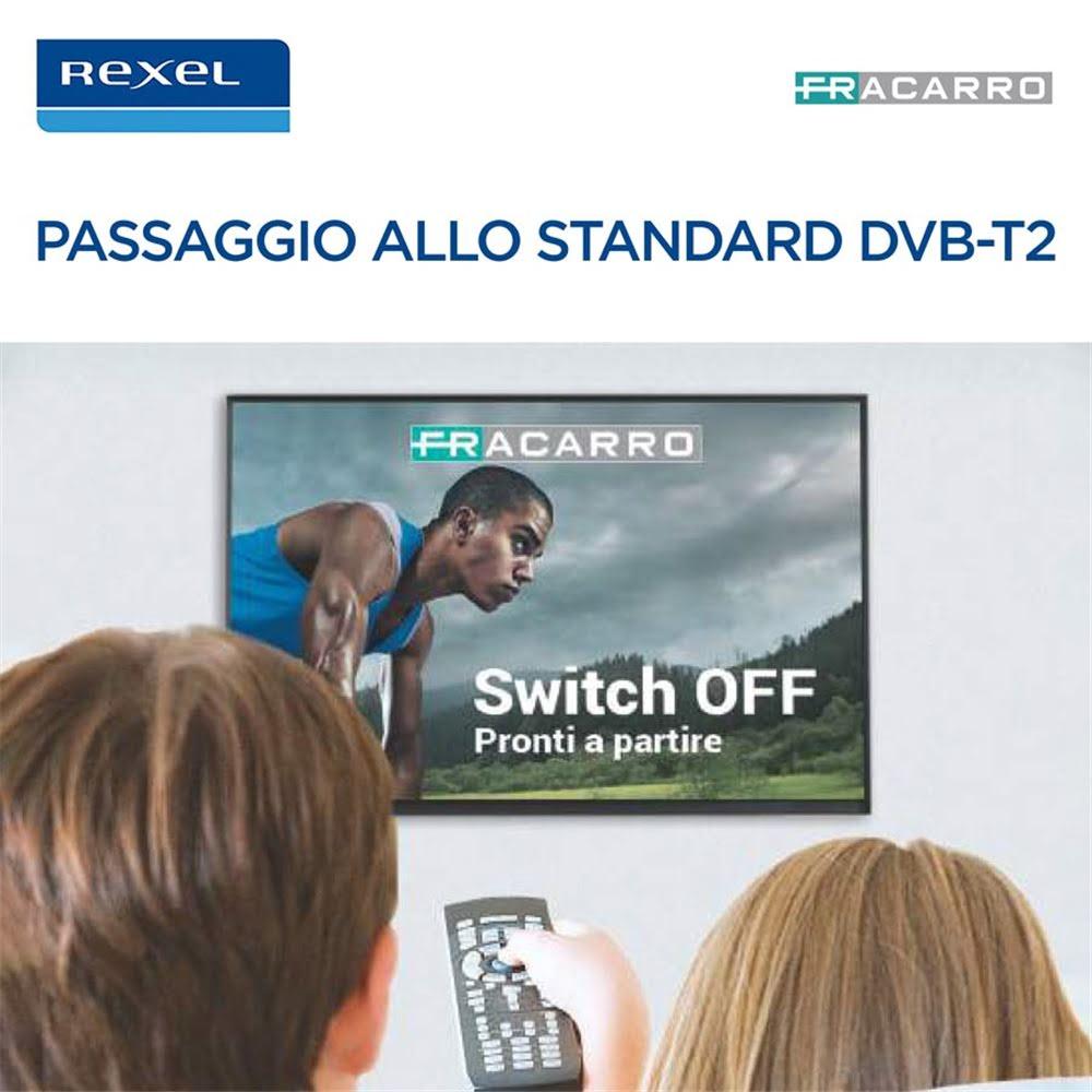 Fracarro News - Passaggio allo standard DVB-T2