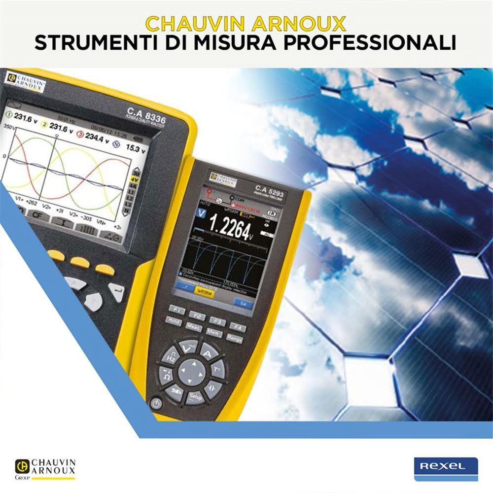 Chauvin Arnoux - Strumenti di misura professionali per energie alternative