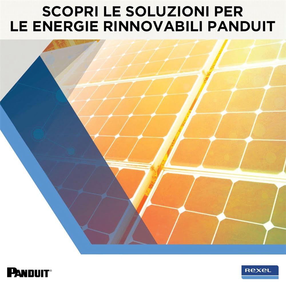 Scopri le soluzioni per il fotovoltaico Panduit