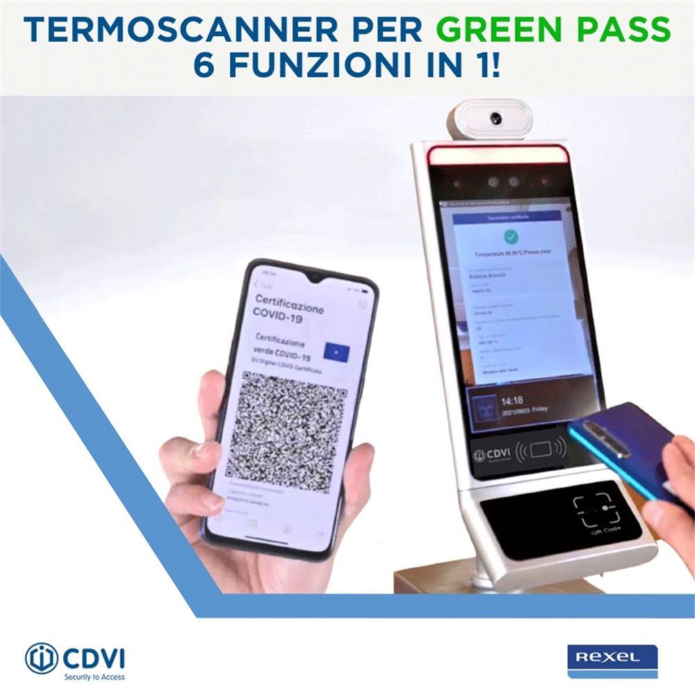 Termoscanner per Green Pass 6 soluzioni in 1!