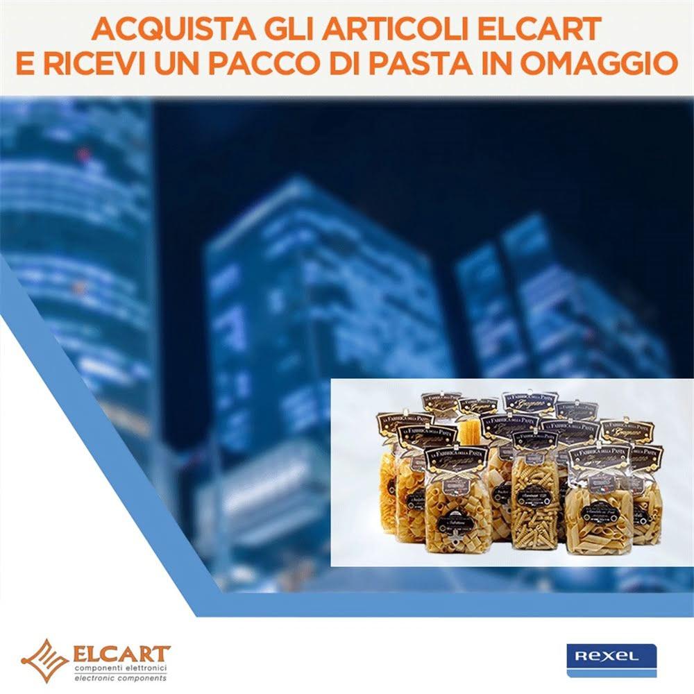 Acquista gli articoli Elcart e ricevi un pacco di pasta in omaggio