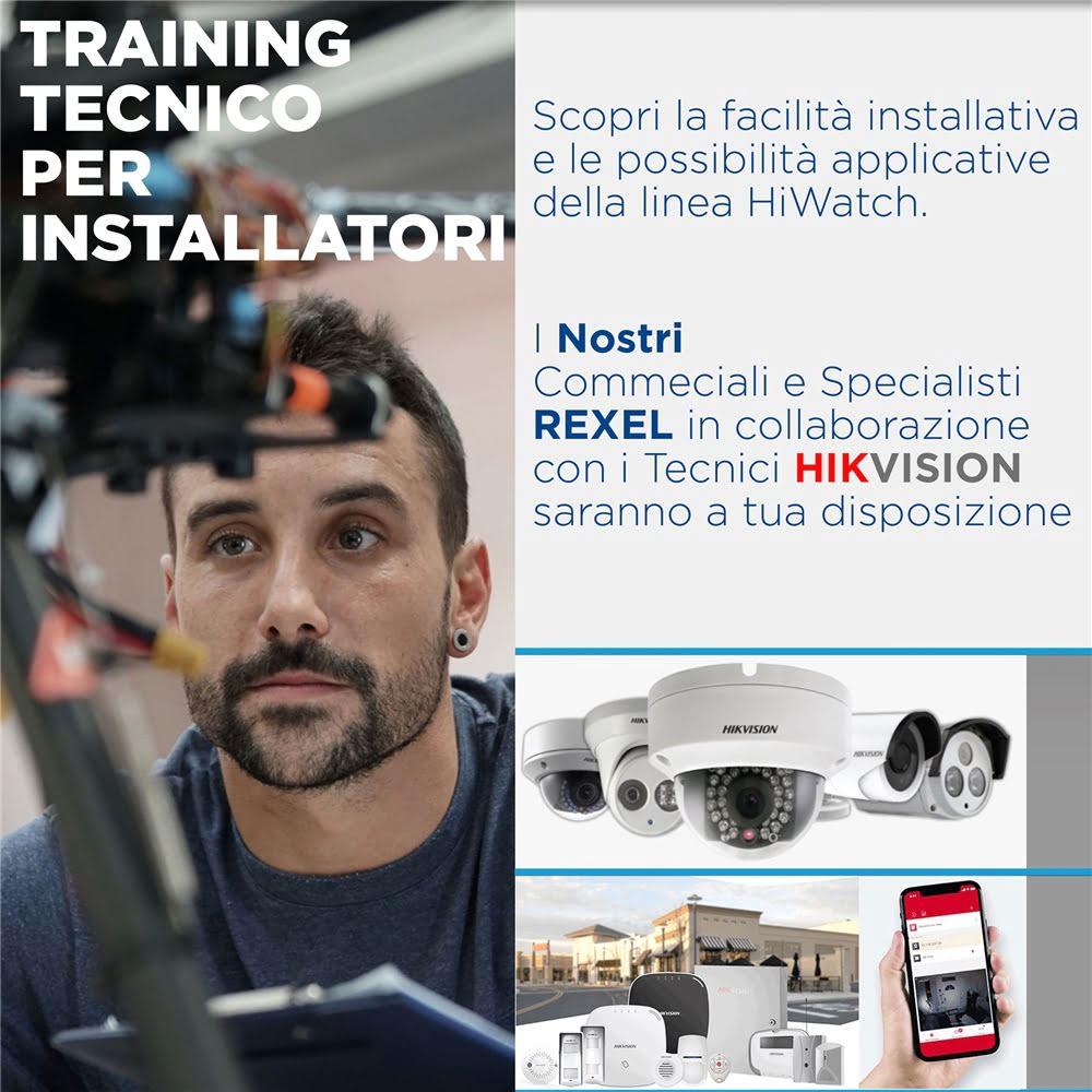 Training tecnico per installatori in collaborazione con Hikvision!