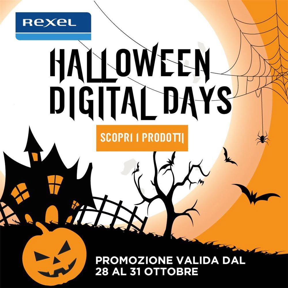 Stanno arrivando gli Halloween Digital Days Rexel!