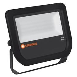 FLOOD LED 50W/3000K BK 100DEG IP65