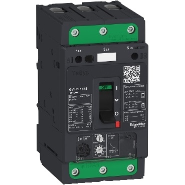 Interruttore salvavita magnetotermico 115A 50KA ELIN