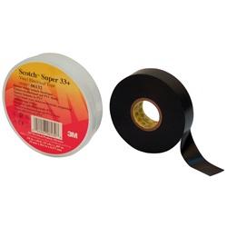 Nastro isolante in PVC Scotch® Super 33+™, 19 mm x 20,1 m, 100 rotoli per confezione