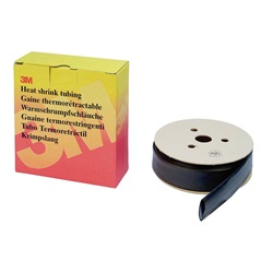 Guaina termorestringente 3M™ HSR 2,4/1,2 mm nero, dispenser da 11mt