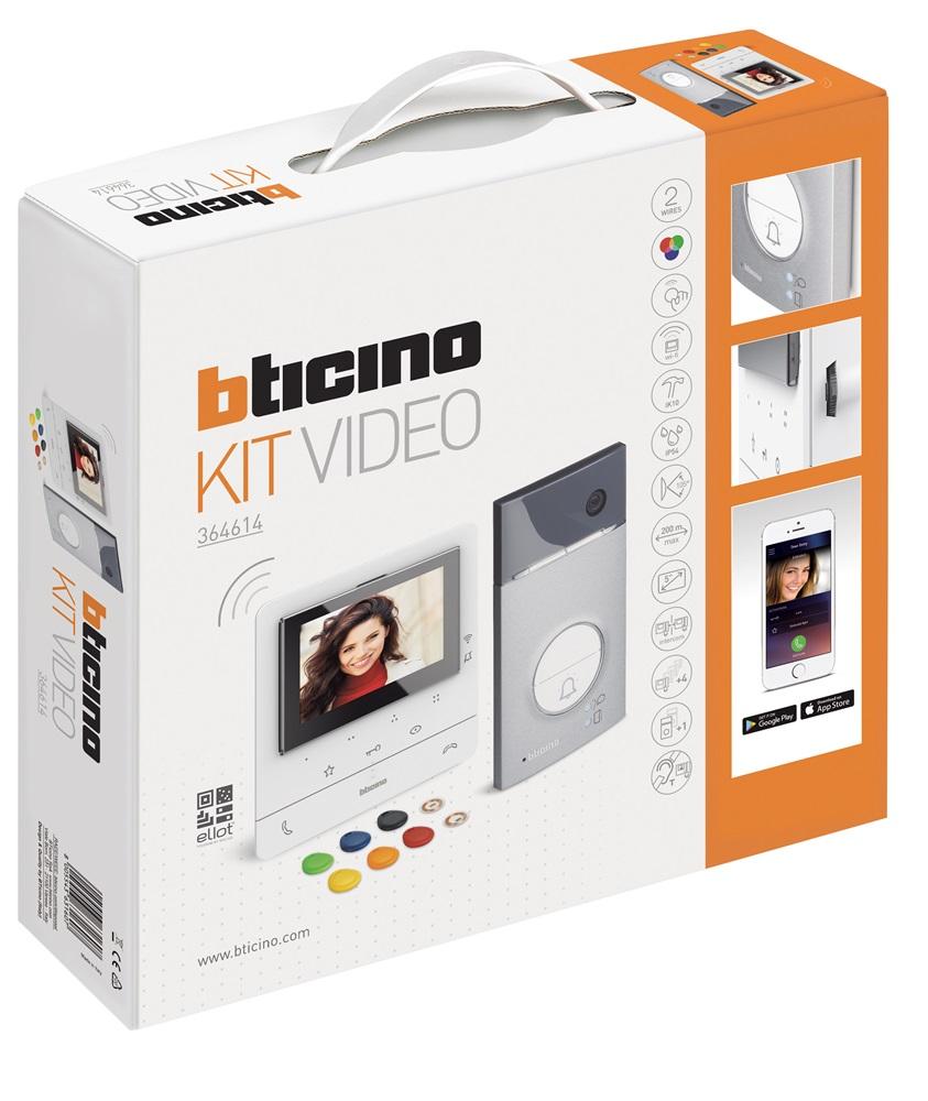 Kit Videocitofonico Bticino Classe100 X16E Monofamigliare