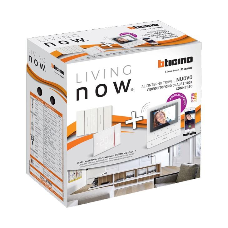 Promo Living Now+Videocitofono CLASSE100 Bticino