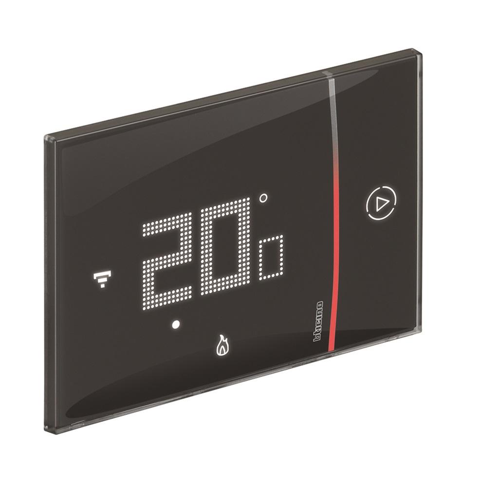 Termostato Smarther 2 Bticino Wifi da incasso Nero