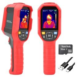 Telecamera portatile per la lettura della temperatura corporea + SD Card