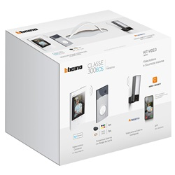 Kit Videocitofono Bticino Classe 300EOS + Videocamera Esterna