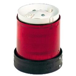 Elemento LED luce fissa rossa 24 V CA/CC