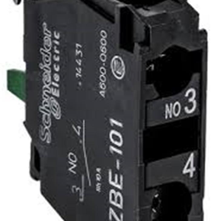 Blocco contatti Schneider Electric, 1 N/A, terminali a Vite