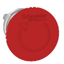Pulsante di emergenza A fungo Schneider Electric, 600 V ac/dc, Ø testa 40mm, Ruotare per ripristinare, Rosso