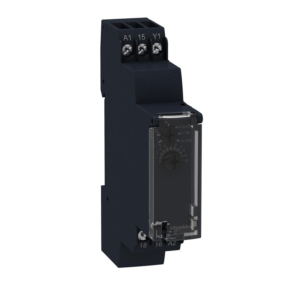 Temporizzatore Rit 24-240 VAC DC 100H 1NC/NO
