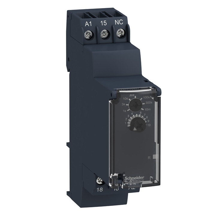 Temporizzatore elettronico 0.05s-10min 24-240V AC/DC 1C/O
