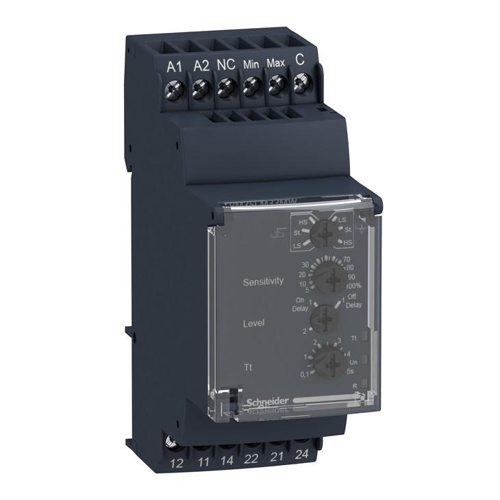 Relè controllo livelli RM35-L Schneider 24-240V AC/DC
