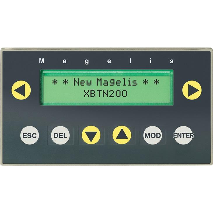 Pannello HMI Schneider Electric XBTN200, 5 V c.c., retroilluminato