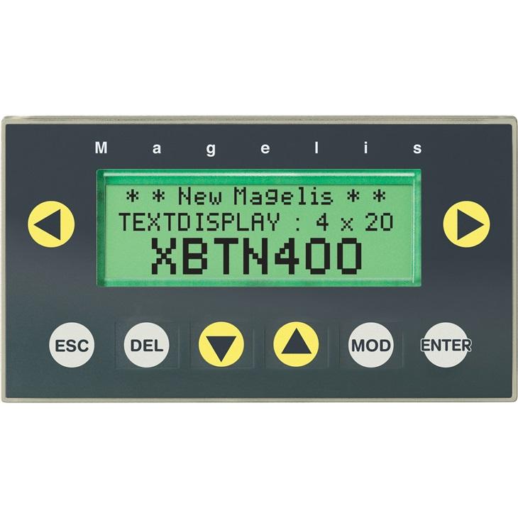 Pannello HMI Schneider Electric XBTN400, 5 V c.c., retroilluminato