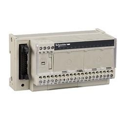 Sottobase di connessione passiva ABE7, 16 input o output, LED.
