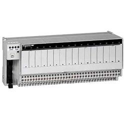 Sottobase, Relè elettromeccanici saldati ABE7, 16 canali, Relè 10mm.