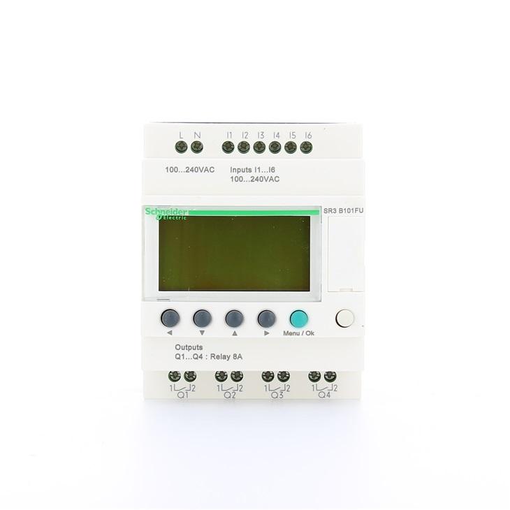Relè intelligente modulare Zelio Logic 10 I/O 100-240V ca con orologio display