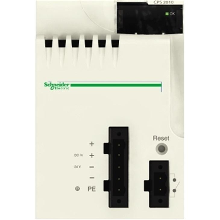 Alimentatore PLC Schneider Electric BMXCPS2010, 24 V c.c., uscita 24V cc, 2,5 A, 16.8W