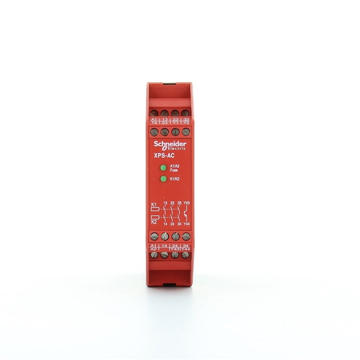 Modulo di sicurezza Arresto di emergenza 3NO 24V CC 50/60 Hz CAT3