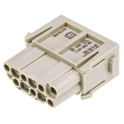 Connettore di potenza per impieghi pesanti femmina serie Han-Modular 12 vie