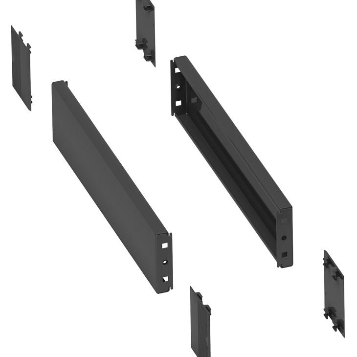 2 pannelli laterali Schneider zoccolo 500x100