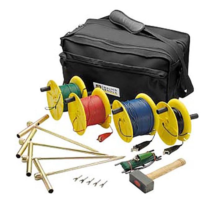 KIT Terra 4P (100mt) con borsa 3x100m + 1x30m, 1x10m, 4 p.