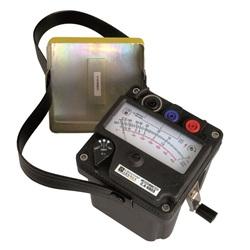 C.A 6503 MEGAOHMETRO ANALOGICO1000 VDC