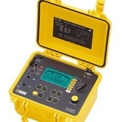 C.A 6547 Megaohmetro digitale 50-5000 Vdc, MEM, RS232